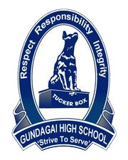 Gundagai High School logo